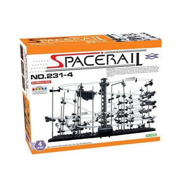 SpaceRail Marble 60000 mm Long Roller Coaster with Steel Balls - 231 Level 6