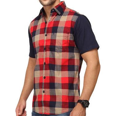 Crosscreek 100% Cotton Shirt For Men_1030307h - Red