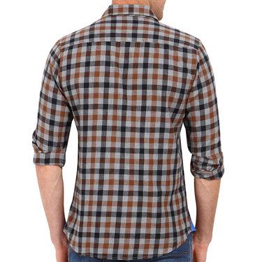 Crosscreek 100% Cotton Shirt For Men_1030310 - Brown