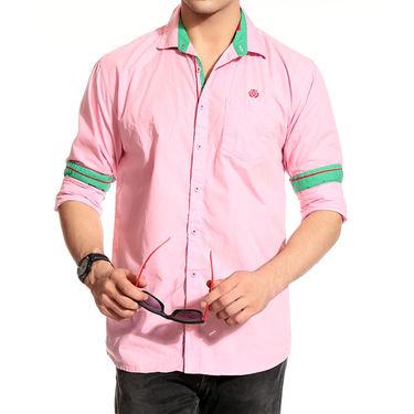 Good Karma Cotton Shirt_Bcs50677 - Pink