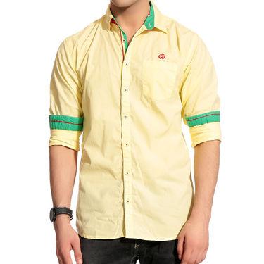 Good Karma Cotton Shirt_Bcs50678 - Yelllow