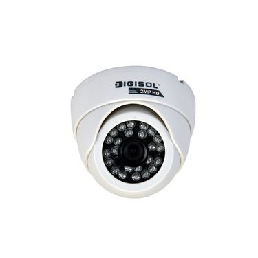 DIGISOL DG CM5420VS 2MP Sony CMOS Vandal Dome AHD Camera with IR LED