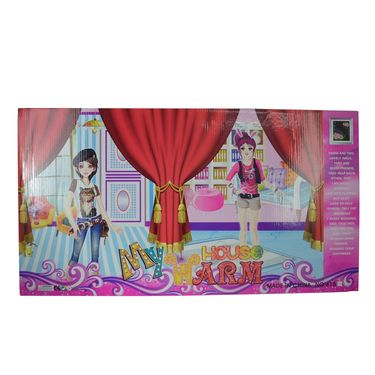 Beautiful Fashionable Style Doll with Accessories Warm House Set-1