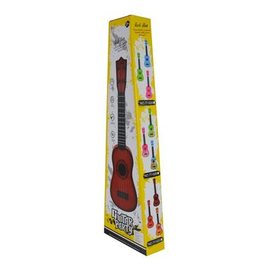 Kids 40cm Party Play Learning Guitar with Mahogany Finishing - Orange