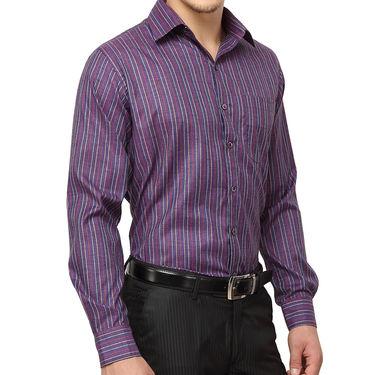 Copperline 100% Cotton Shirt For Men_CPL1189 - Purple