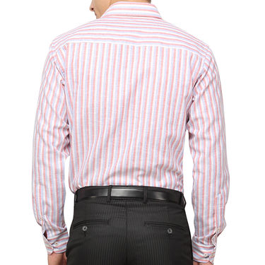 Copperline 100% Cotton Shirt For Men_CPL1196 - Red & White