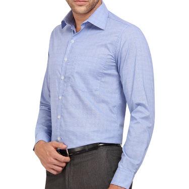 Copperline 100% Cotton Shirt For Men_CPL1206 - Blue