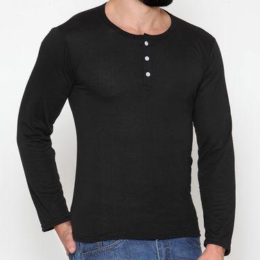 Rico Sordi Full Sleeves Cotton Tshirt_Rsh01 - Black