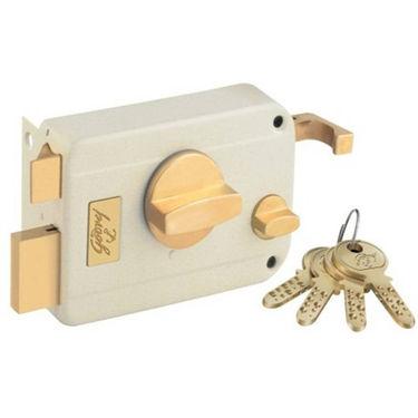 Godrej Ultra Twinbolt Beige Brass 1Ck Lock (Beige Gold)