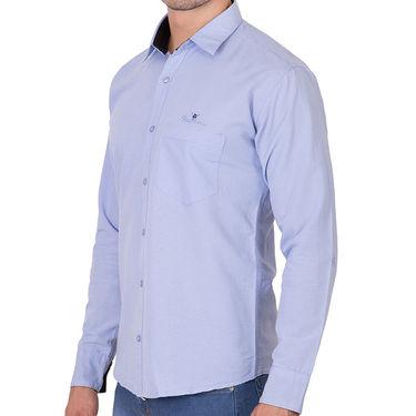 Branded Full Sleeves Cotton Shirt_R12kprpl - Purple