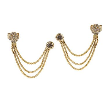Kriaa Austrian Stone Ear Cuff_1303303
