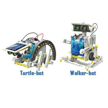 14 in 1 Educational Solar Robot Kit - Multicolor