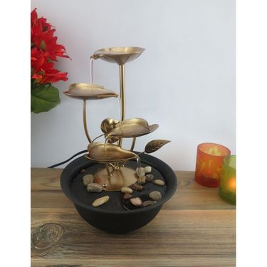Metal fountain without LED light1412-0531