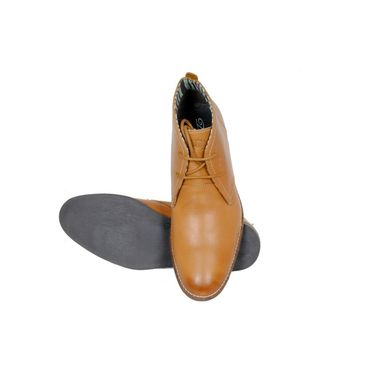 Delize Leather Formal Shoes 1893A-Tan