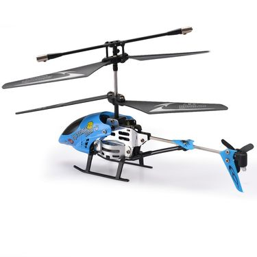 2 Channel Mini Rechargeable Metal Frame RC Helicopter