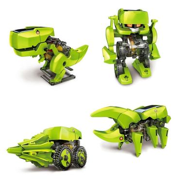 4 in 1 Educational Solar Robot Toy - Multicolor