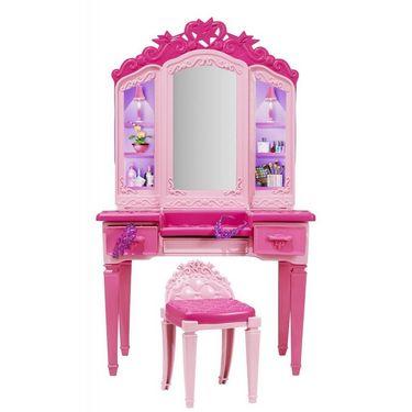 Mattel Barbie Princess Power Superhero Vanity Playset