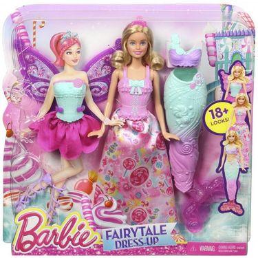 Barbie Fairytale Dress Up Multi Color