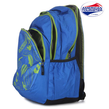 American Tourister Backpack_Code 1 Blue