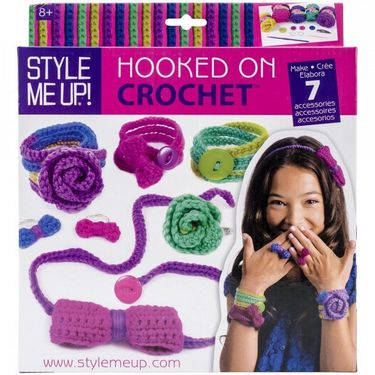 Style Me Up Hooked On Crochet Multi Color (628845006270)