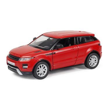 RMZ Range Rover Evoque Matte Red Pullback Diecast Toy Car