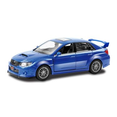 RMZ Subaru WRX STI Blue Pullback Diecast Toy Car Pullback Diecast Toy Car