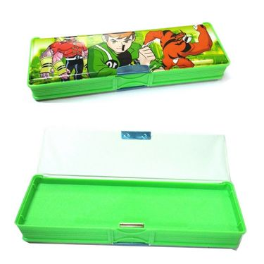 Cute Magnetic Pencil Box Double Sided
