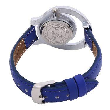 Adine Round Dial Analog Wrist Watch For Women_38bb08 - Blue