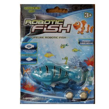 Water Sensitive Robot Clownfish Toy - Blue