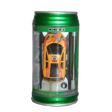 AdraxX  Micro RC Racing Car Toy - Yellow