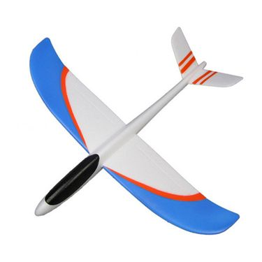 AdraxX Super Flying Outdoor Hand Launcher Glider - White & Black