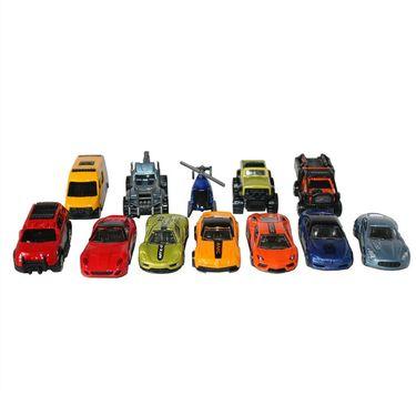 Die Cast Simulation Set of 12 Vehicles