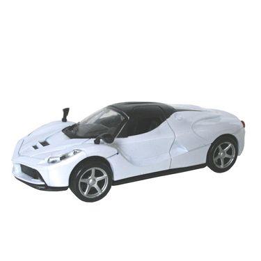 1:32 Scale Die Cast Door Opening Dashing Toy Car - White