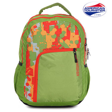 American Tourister Backpack_Code 4 lime