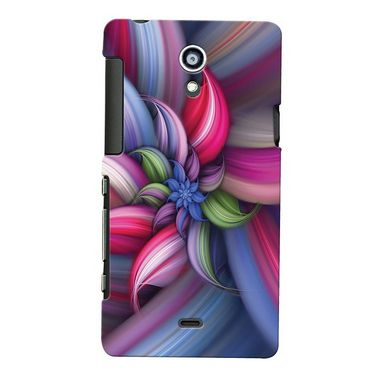 Snooky Digital Print Hard Back Case Cover For Sony Xperia T Lt30p Td12362