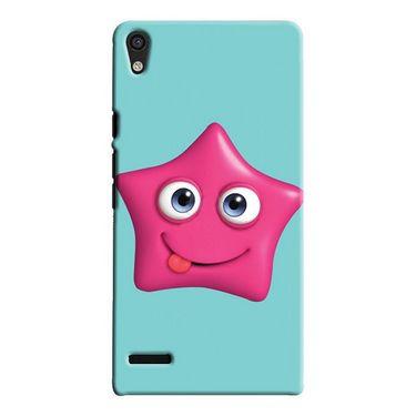 Snooky Digital Print Hard Back Case Cover For Huawei Ascend P6 Td12424