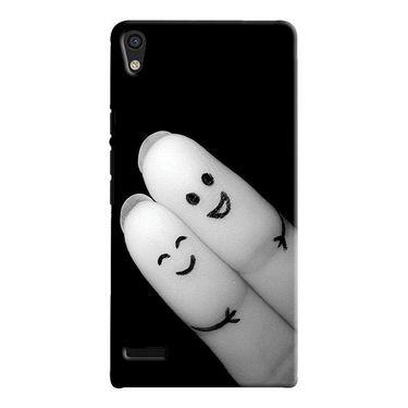 Snooky Digital Print Hard Back Case Cover For Huawei Ascend P6 Td12430