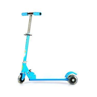 Kids Three Wheel Foldable Mini Scooter - Blue
