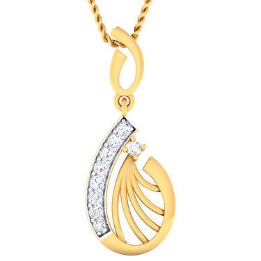 Kiara Sterling Silver Varsha Pendant_5131P