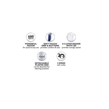 Philips HR1361 600 W Hand Blender