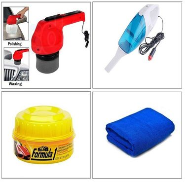 Refresh your Car - Combo of 4 Cleaning Accessories