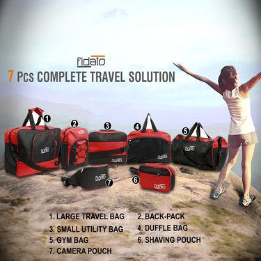 7 Pcs Complete Travel Solution