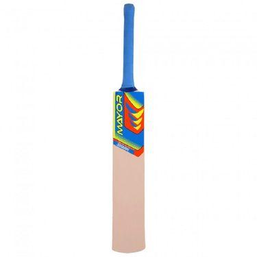 Mayor Natural Color Popular Willow Tennis Bat - 3