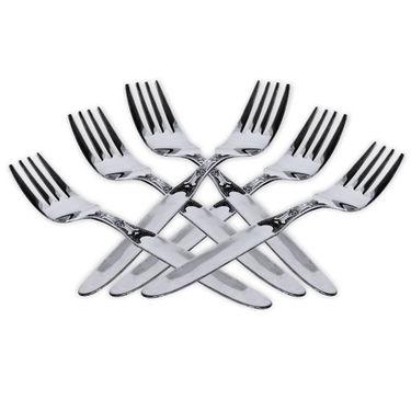 50 Pcs Stainless Steel Dinner Set + Knife Set + Chopping Board