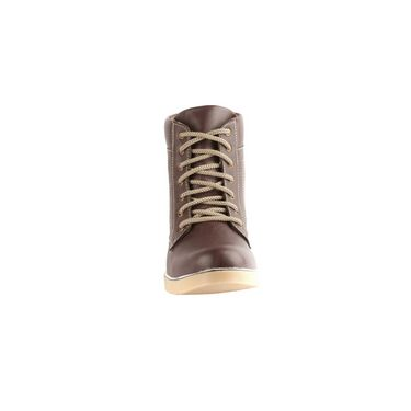 Bacca bucci Faux Leather Boots 975 - Brown
