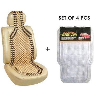 Combo of footmats + Wooden beads