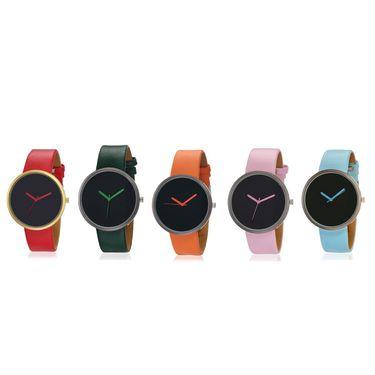 Pack of 5 Japanese Quartz Unisex Watches_Ad111
