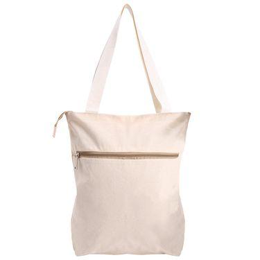 Arisha Cotton Khadi Handbag AE40j -Cream