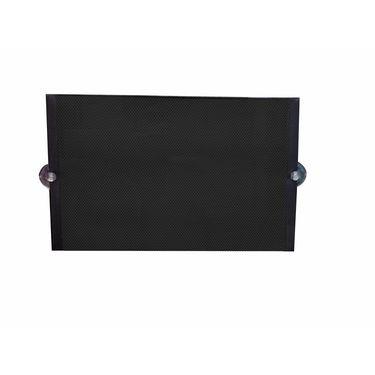 Auto furnish Universal Stick on Curtain For Car Windows Set of 2Pcs - Black-AF1661-1