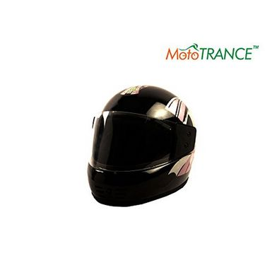 Mototrance AF2069 Autofurnish (MO-103) Road Dragon Full Face Helmet Multi Graphics (Black)(Large)